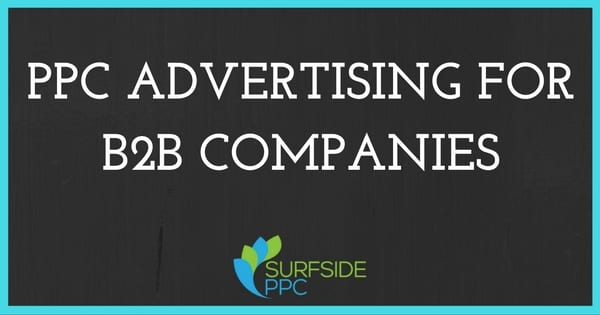 ppc advertising for b2b companies