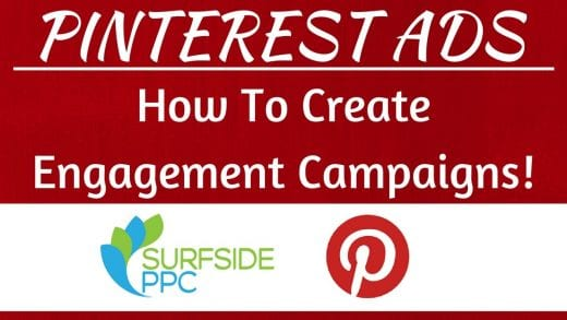 pinterest engagement ads tutorial