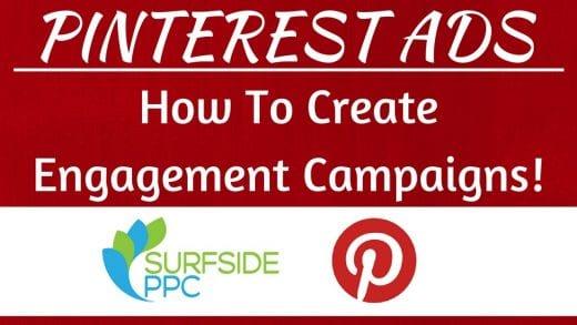 pinterest engagement ads tutorial