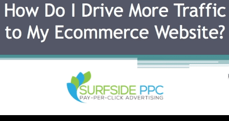 drive traffic ecommerce website