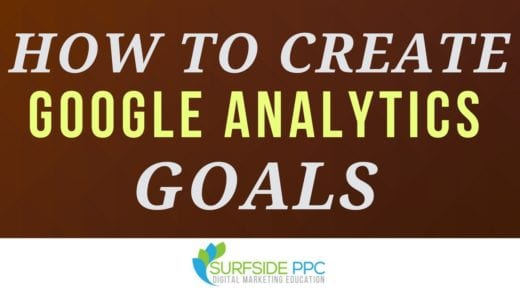 how to create google analytics goals