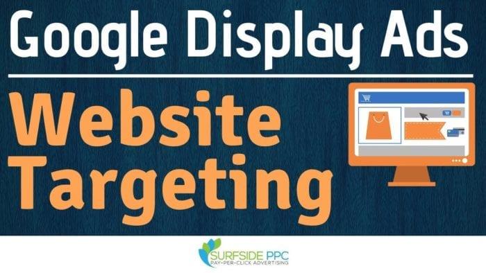 google display ads website targeting