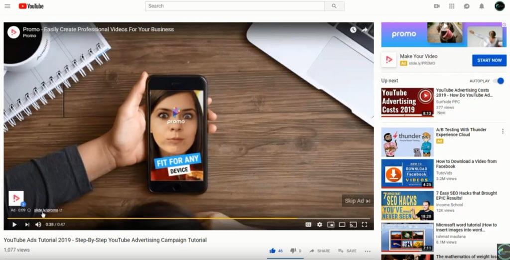 youtube trueview in-stream video ads