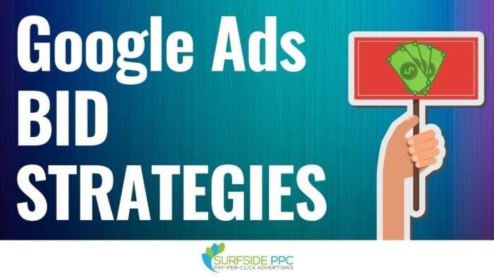 google ads bid strategies