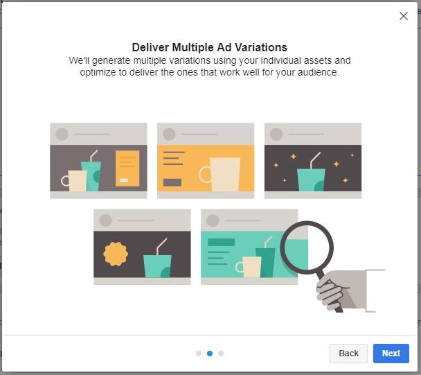 deliver multiple dynamic creative ads