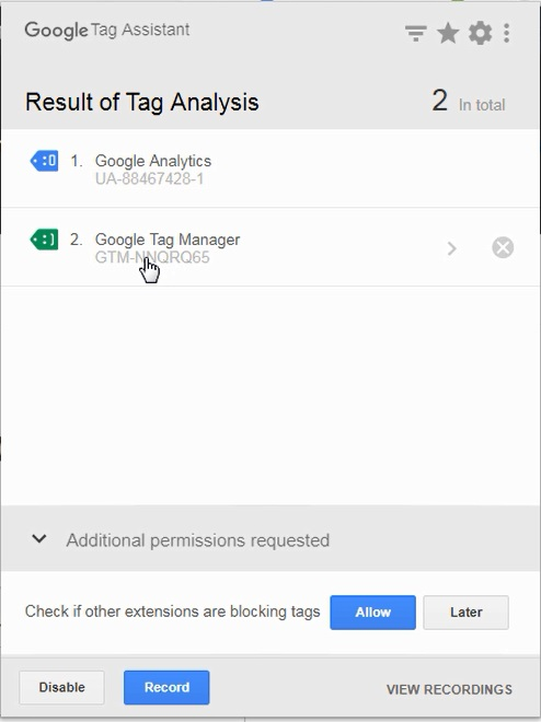 install google tag manager on your website