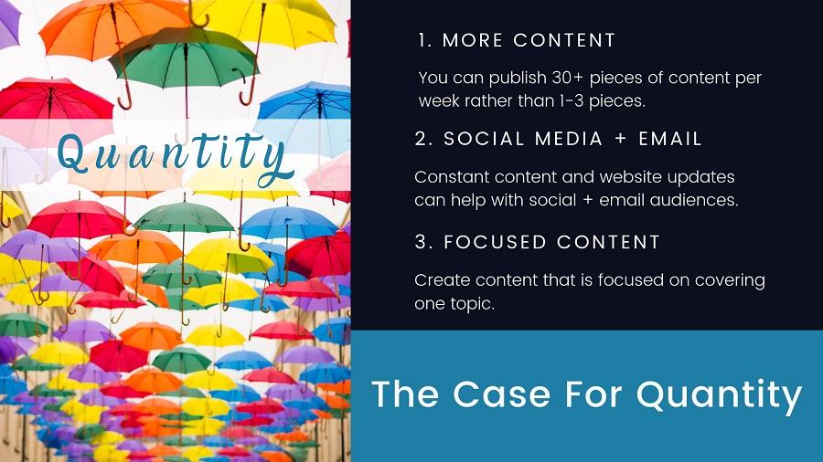 quantity content