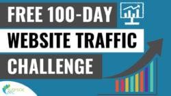 Free 100 Day Website Traffic Challenge