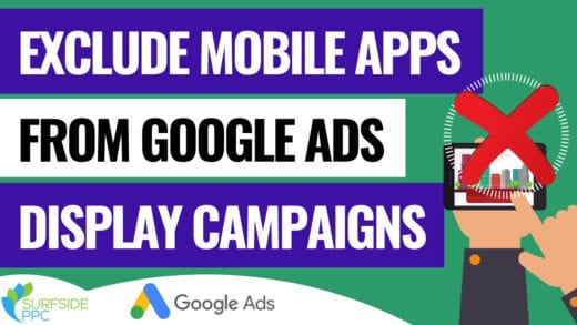 exclude mobile apps google display ads