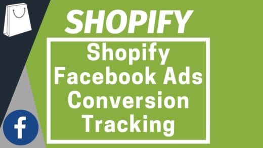 shopify facebook ads conversion tracking