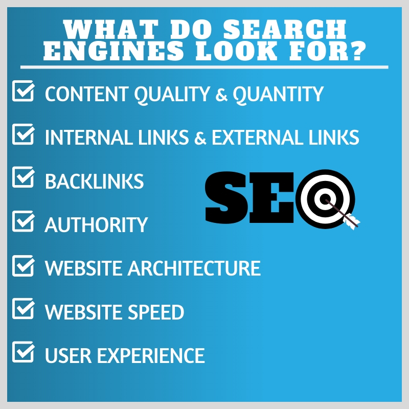 what do search engines look for
