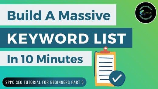 keyword lists seo