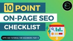 10 Point On-Page SEO Checklist and Tutorial 2020