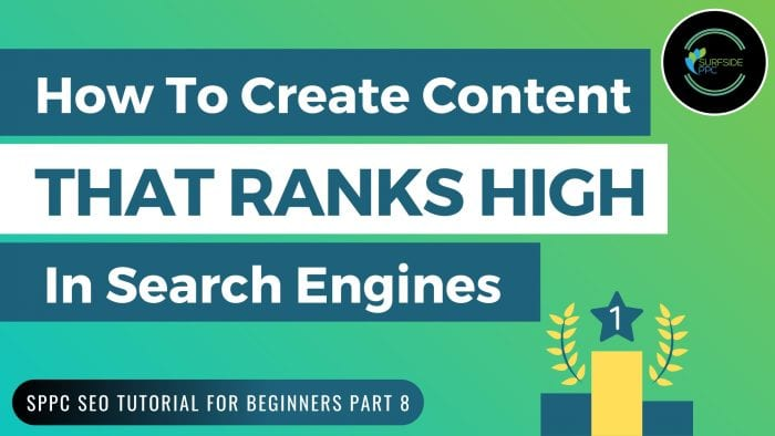 rank higher in Google - Improve google rankings