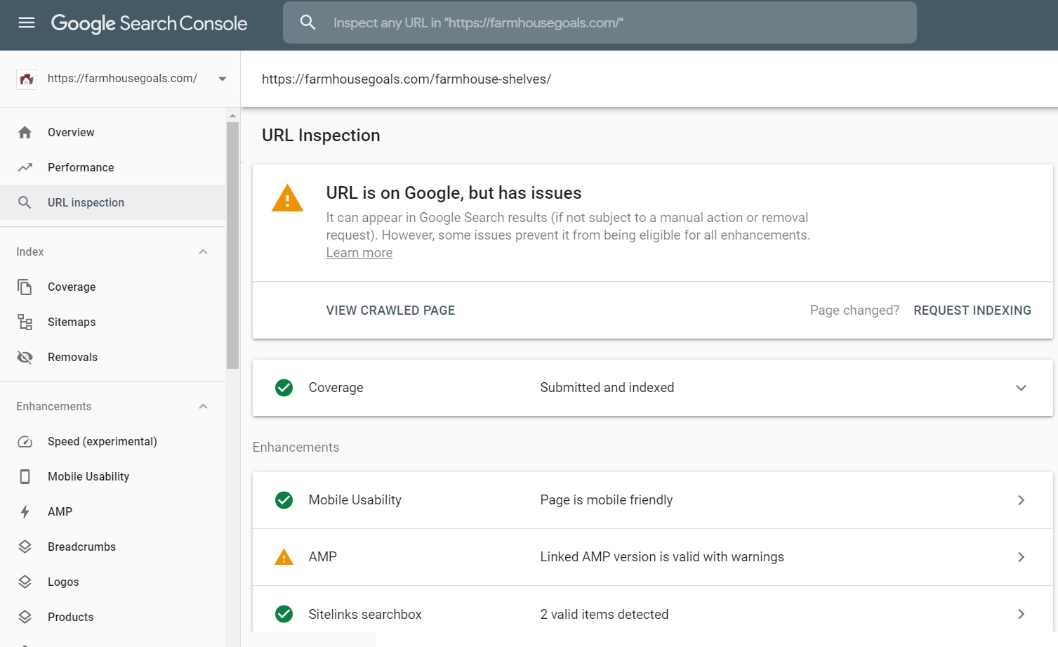 5 Inspect URLs to Find Indexing Issues and Technical Issues