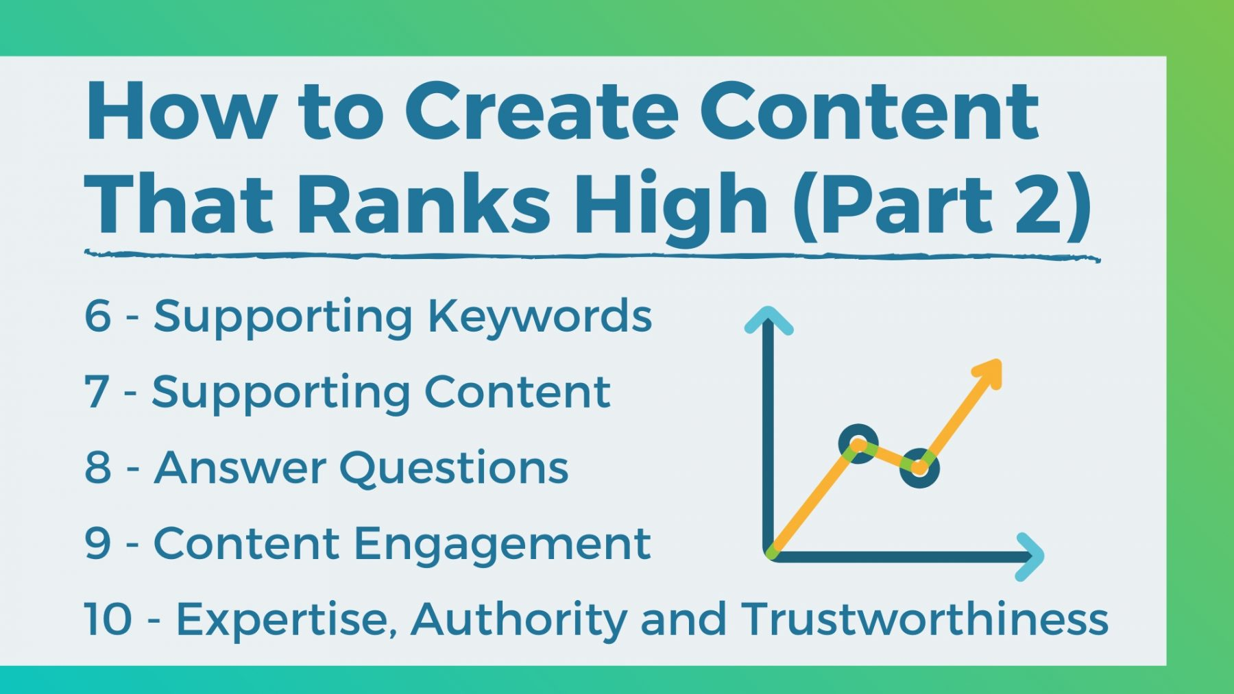 how to create content that ranks high 2