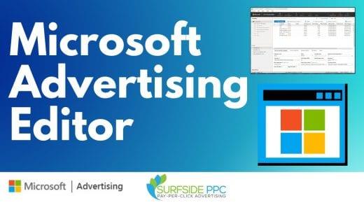 microsoft advertising editor