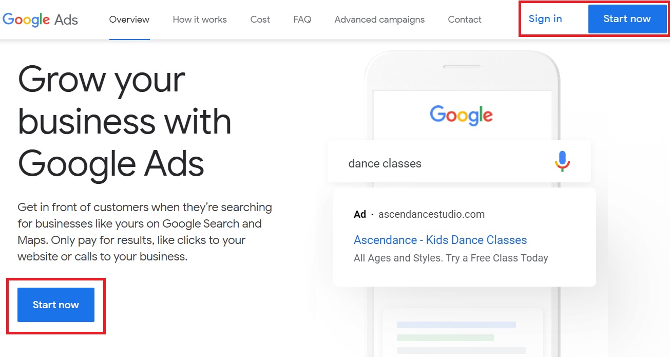 1 google display ads