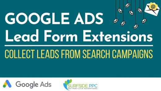 google ads lead form extensions