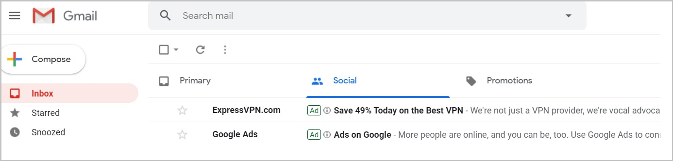 gmail ads examples