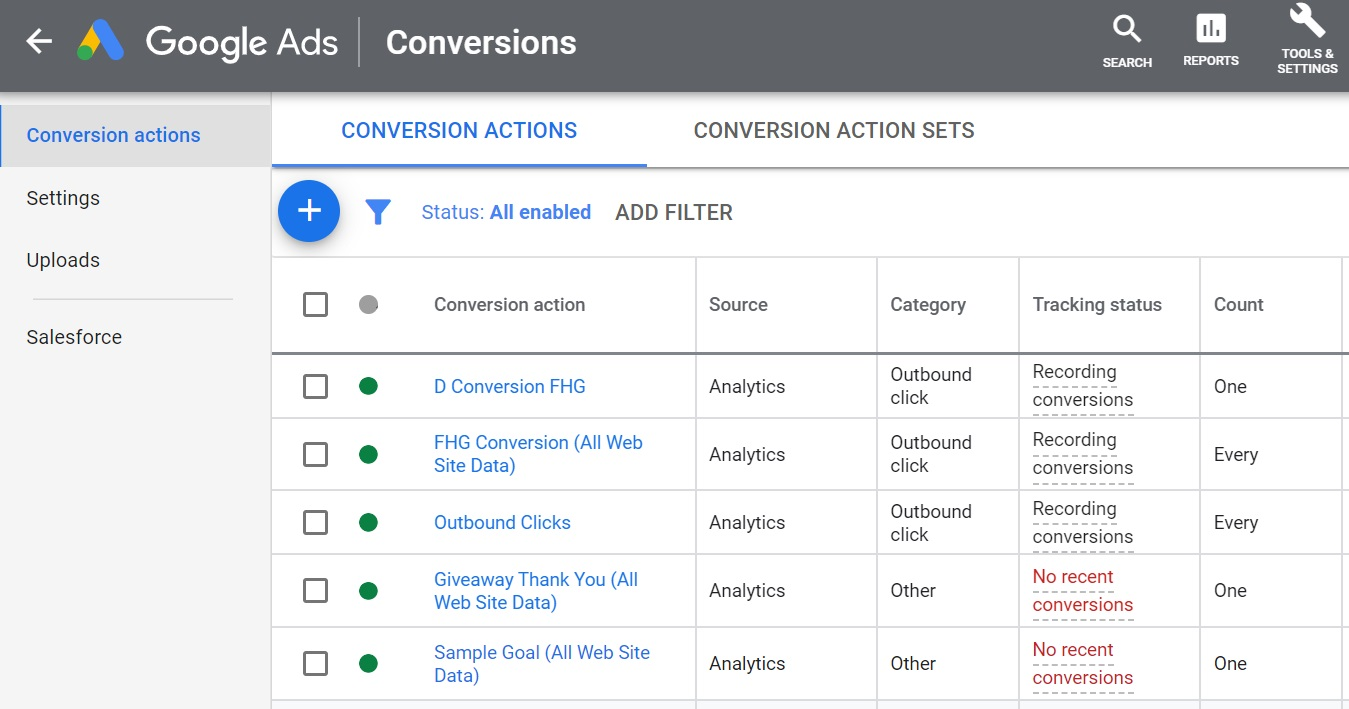 google ads conversion tracking for discovery campaigns